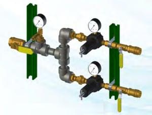 Pressurized Cylinders providing nitrogen gas