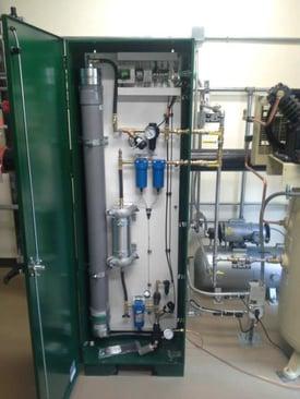 ECS nitrogen generator