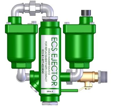 ECS Ejector Automatic Air Vent (EEAV-2) circa 2008