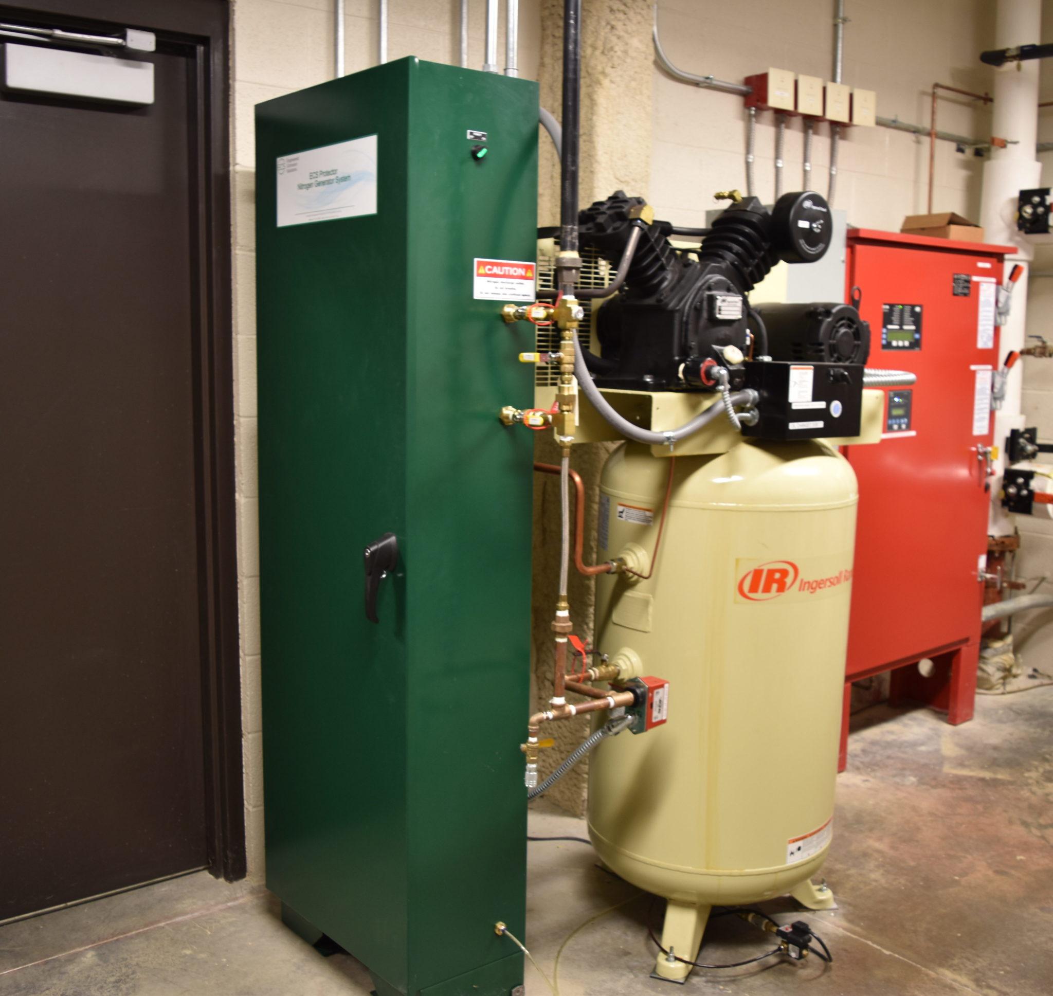 Gettysburg Foundation Nitrogen Generator System