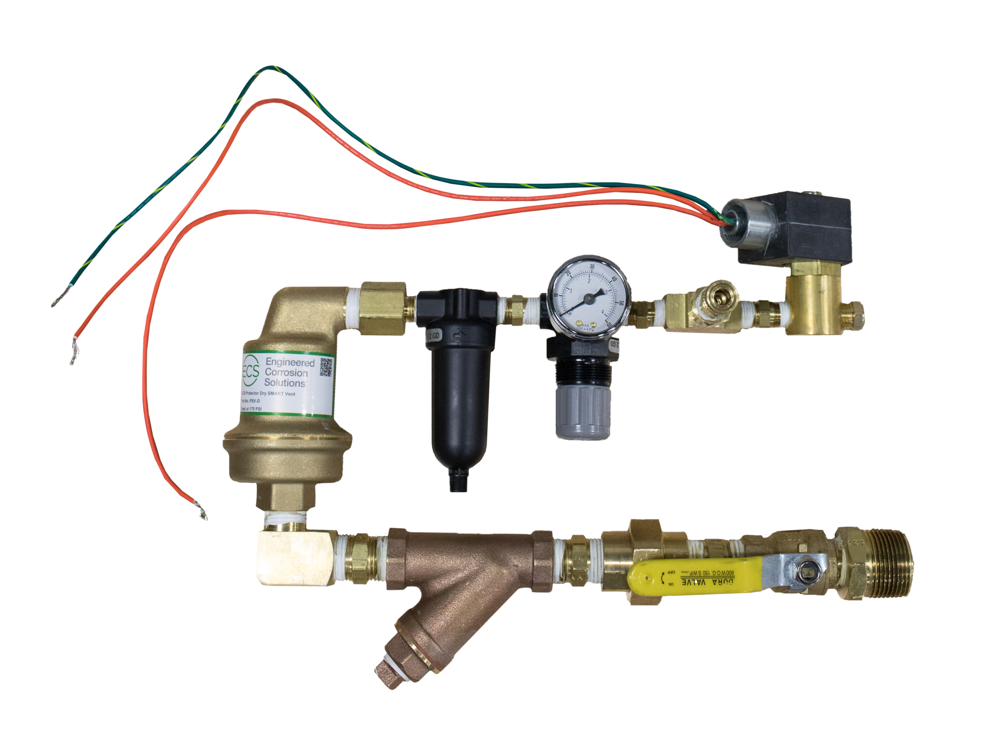 Paired with a nitrogen generator, this vent ejects oxygen from any dry sprinkler system.