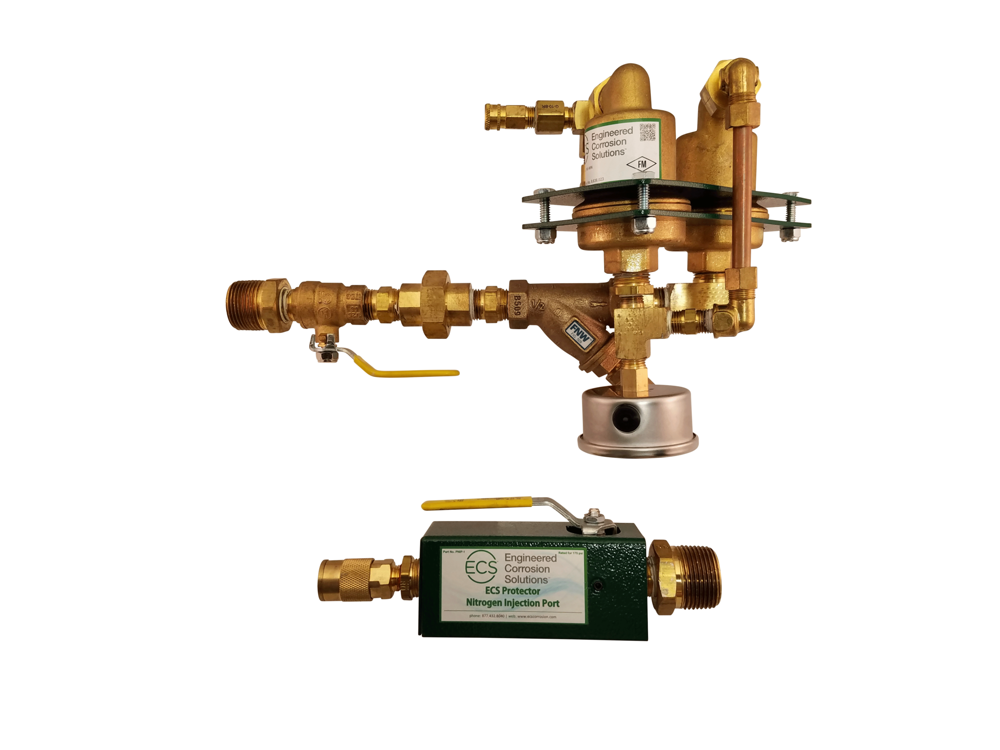 Protector Inerting Vent and Wet Pipe Sprinkler System