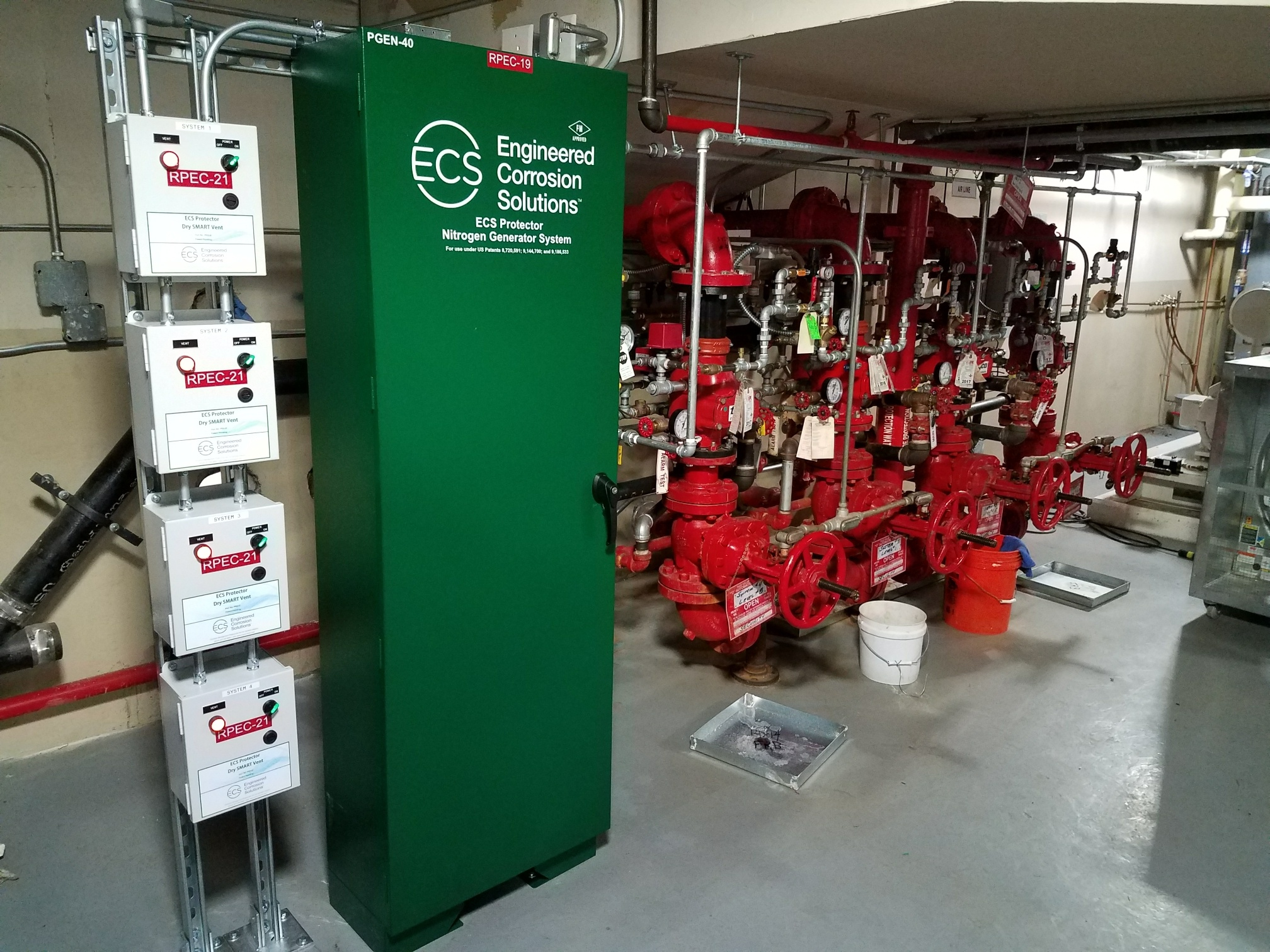 Nitrogen Generator Systems for Fire Protection in Dry Pipe Systems