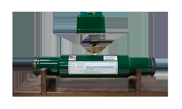 In-Line Corrosion Detector
