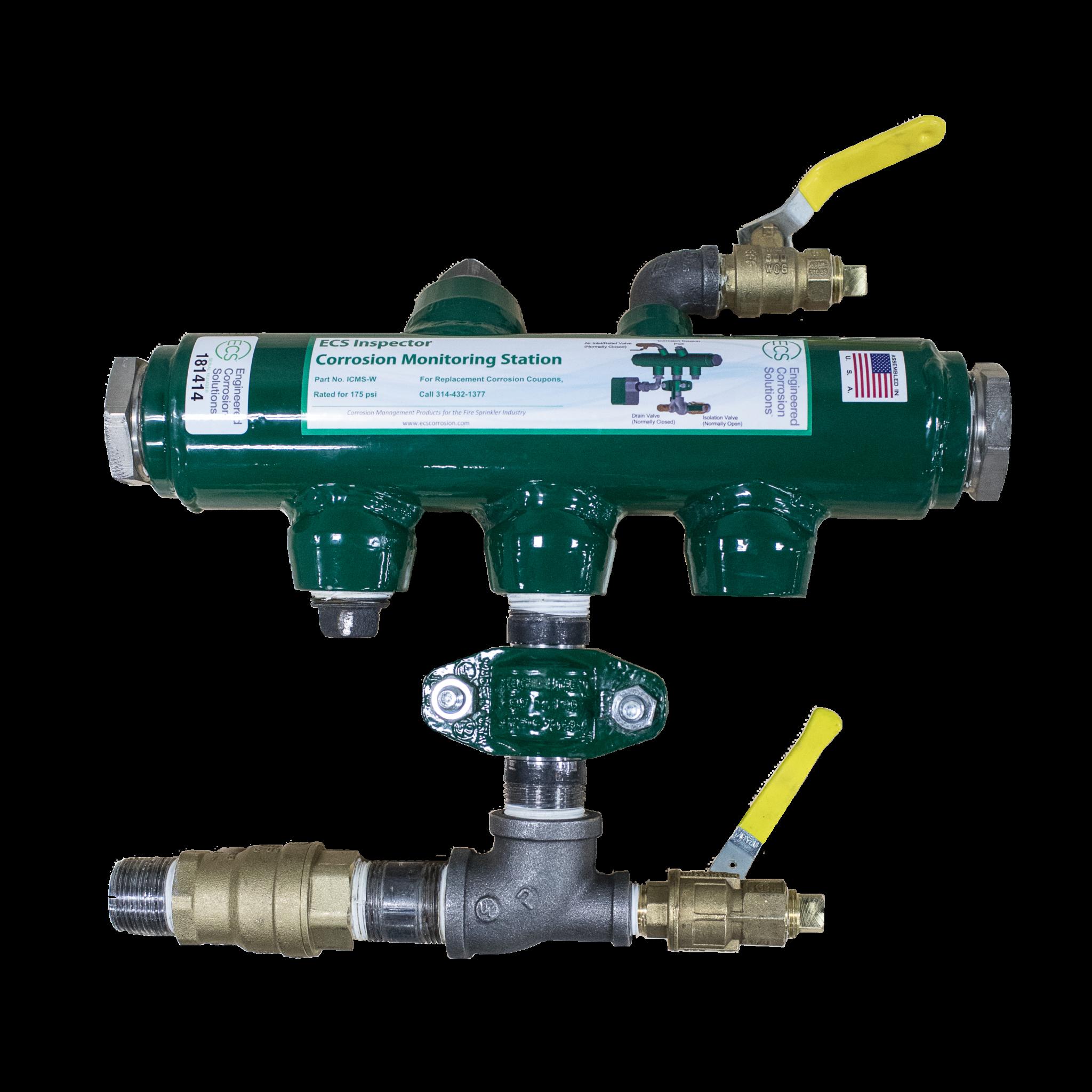 Inspector Monitoring Station and Sprinkler System Maintenance