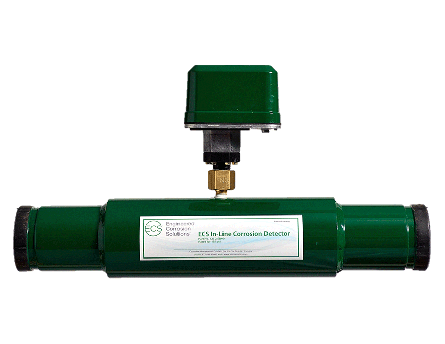 Corrosion Control Device and Dry Pipe Sprinkler System