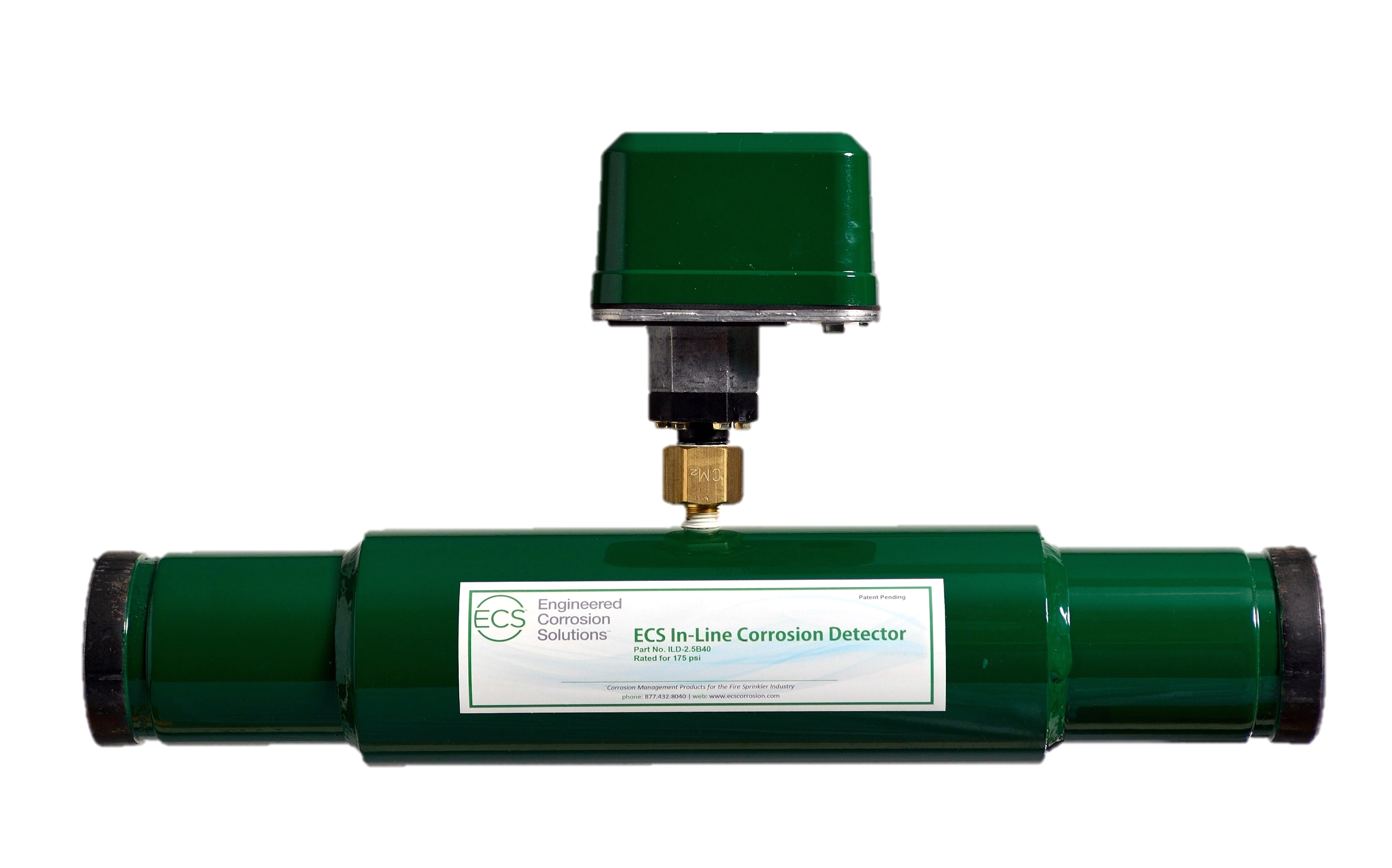 ECS In-Line Corrosion Detector device