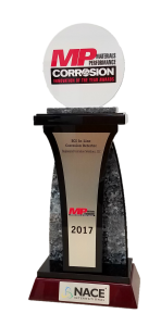 ECS In-Line Corrosion Detector (ILD) has been awarded the 2017 Corrosion Innovation of the Year.
