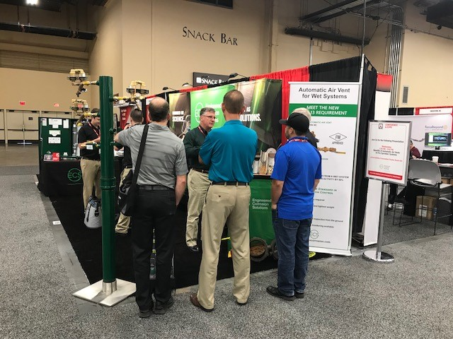 NFPA booth