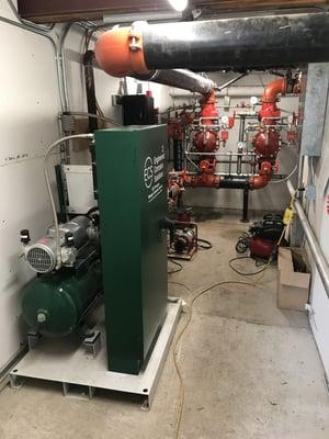 PGEN-20 Installed + Risers