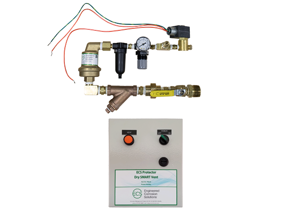 Protector Dry SMART Vent (PSV-D) and Nitrogen Generator for Fire Protection